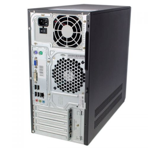 85+ Esprimo PC Intel Dual Core i3 3220 3.3Ghz back